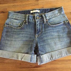 ❄️SALE⛄️ Bull Head Light Jean Shorts